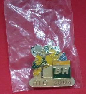 Pin Olímpico - Rio Cidade Candidata 2004 - Salto Com Vara