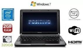 Netbook Positivo Mobo 5500 Hd 320gb 2gb Ram Hdmi-bateria Off