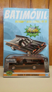 Batimovil Clásico Adam West Metal Die Cast Jada Dc Germanes