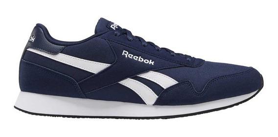 Zapatillas Moda Reebok Royal Cl Jog Azul Marino - Hombre