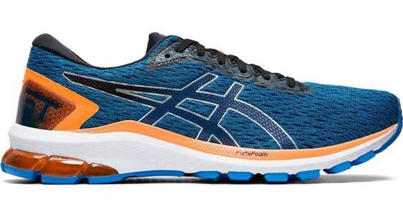 Tênis Running Asics Masculino Gt1000 9 1011a770-402 Azul