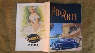 Revista Antiga De Carros,carruagem,escrita Em Frances