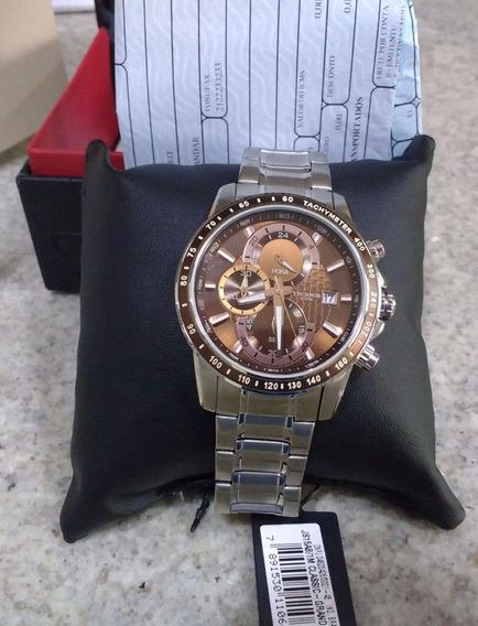 Relógio Technos Masculino Classic Grandtech Js15ab/1m Novo