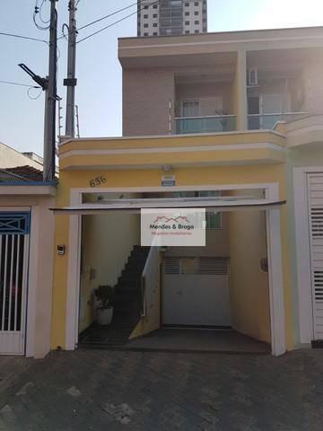 Sobrado Com 3 Dormitórios À Venda, 200 M² Por R$ 955.000,00 - Vila Prudente (zona Leste) - São Paulo/sp - So0177