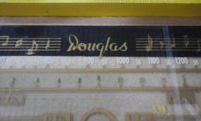 Dial Radio Antigo Douglas