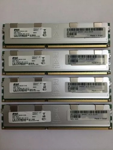 Memoria 8gb Pc3-10600r Dell, Hp, Ibm Smart R710 R610 R410