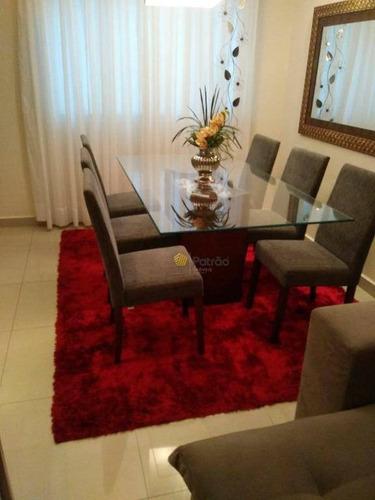 Apartamento À Venda, 80 M² Por R$ 410.000,00 - Assunção - São Bernardo Do Campo/sp - Ap3136