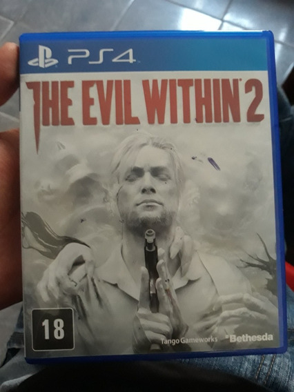 Jogo Ps4 The Evil Withen 2 Usado