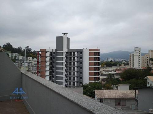 Cobertura Com 2 Dormitórios À Venda, 108 M² Por R$ 395.000,00 - Carvoeira - Florianópolis/sc - Co0223