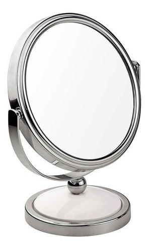 Espejo Maquillaje Aumento Doble Mor De Pie 10.7cm