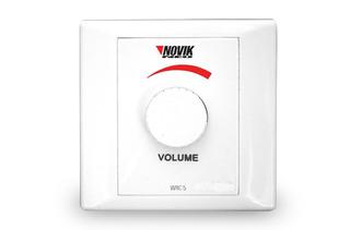 Control Volumen Instalacion Parlantes Novik Wrc-5 101db