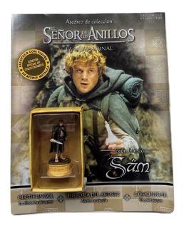 Ajedrez De Colección - El Señor De Los Anillos N° 14 Sam