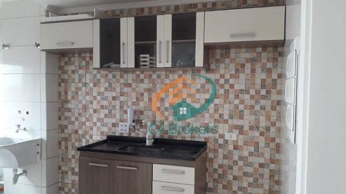 Apartamento Com 2 Dormitórios À Venda, 50 M² Por R$ 230.000,00 - Vila Carmosina - São Paulo/sp - Ap3564