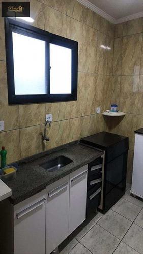 Imagem 1 de 5 de Apartamento Com 3 Dorms, Ocian, Praia Grande - R$ 250.000,00, 100m² - Codigo: 392 - V392