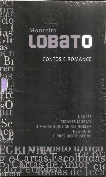 Urupes Negrinha Presidente Negro Box 5 Livro Monteiro Lobato