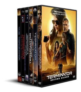 Colección Completa Terminator Dvd Español Latino / Inglés