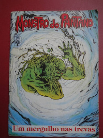 Revista Monstro Do Pântano Nº 02 Fev/1990