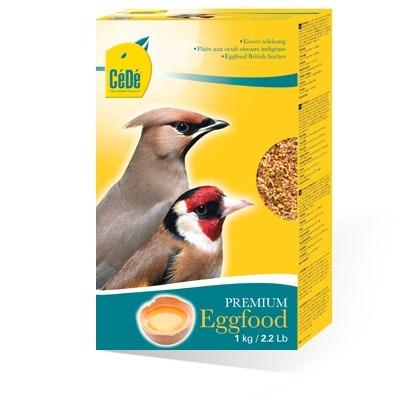 Cédé Eggfood British Finches - Pássaros Silvestres (1 Kg)