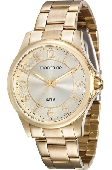 Relógio Mondaine Dourado 78711 Lpmvda1