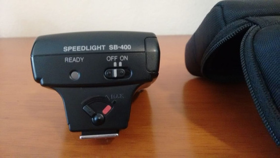 Flash Nikon Sb 400 (leia O Anuncio)