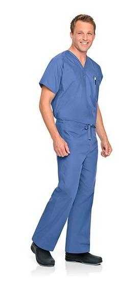 Pantalón Unisex Reversible Marca Landau Color Azul Claro