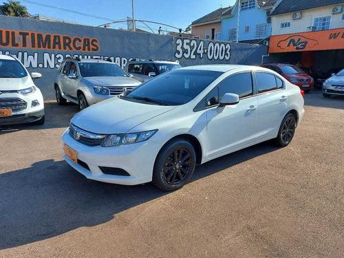 Imagem 1 de 15 de Honda Civic Sedan Lxs C-at 1.8 16v(new)(flex) 4p