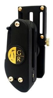 Kit Ipsc Guga Ribas Coldre + 3 Porta Carregadores