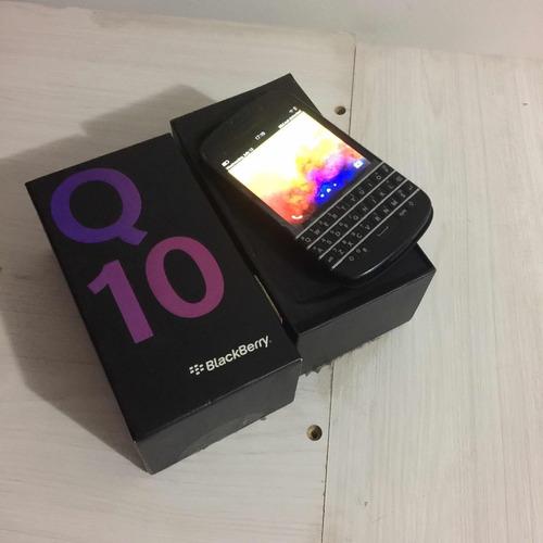 Blackberry Q10 Sqn100-2 Ótimo S Desliga P Peça Ou Réparo