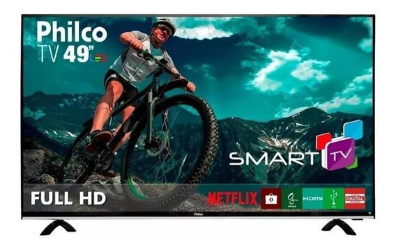 Smart Tv Philco Led Full Hd Usb Wi-fi Hdmi Usb 49pol