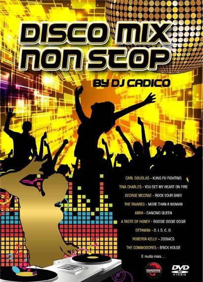 Disco Mix Non Stop - By Dj Cadico - Dvd