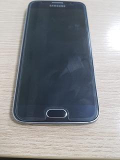 Samsung S6 - 32gb- Azul - Usado Em Ótimo Estado.