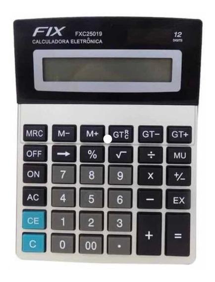 Calculadora De Mesa Comercial 12 Dígitos De Ótima Qualidad