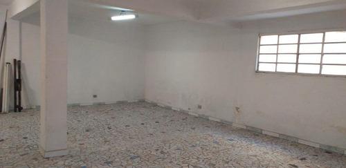 Salão Para Alugar, 64 M² Por R$ 1.500,00/mês - Vila Luzita - Santo André/sp - Sl0346