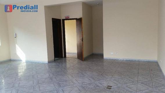 Salão Para Alugar, 80 M² Por R$ 1.400/mês - Pirituba - São Paulo/sp - Sl0019