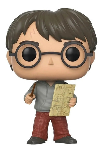 Boneco Funko Pop Harry Potter Harry Com Mapa Do Maroto 42