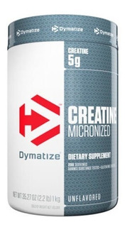 Creatina Dymatize Micronizada (1 Kg) Oferta!