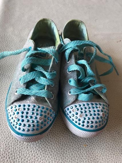 Zapatillas Skechers Niña Con Luz