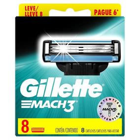 Carga Gillette Mach3 Regular C/8 Cartuchos - Original