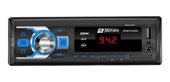Ap Radio/usb/cartao/ent.aux.p2 Frontal C/controle
