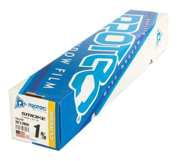 Protec Papel Ahumado Classic 1% Oscuro 60mt X 50cm 1ply