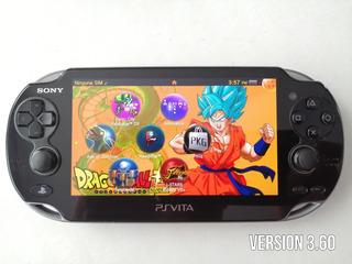 Ps Vita Fat Consola 3.60 Liberado Memoria Y Cargador