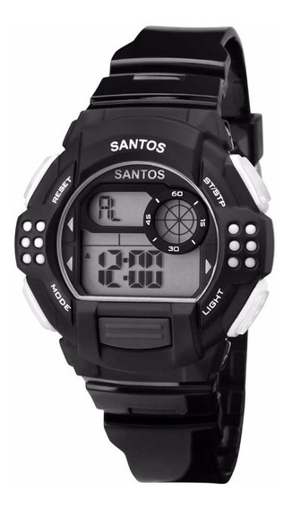 Relógio Oficial Do Santos Pequeno Digital Sfc13615/8c
