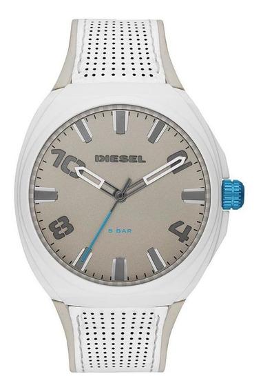 Relógio Diesel Stigg Masculino Branco Dz1884/0bn