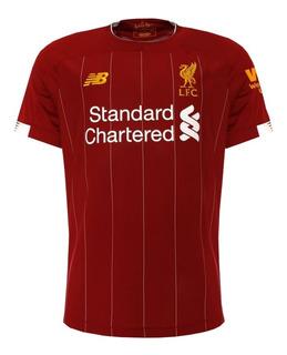 Camisa Do Liverpool 19/20 Masculino - Desconto + Garantia