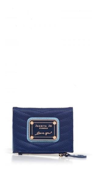 Billetera Juanita Jo Mini Brand ( Azul 30044 )