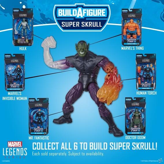 Wave Completa Marvel Legends Baf Super Skrull - Hasbro E7497