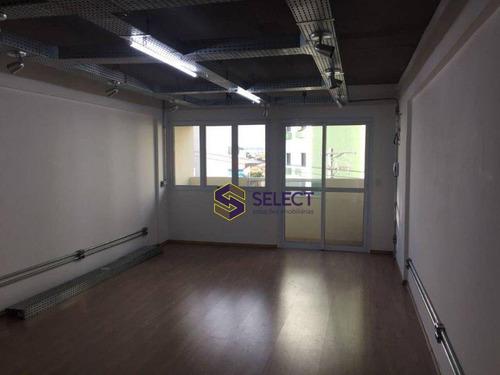 Sala, 37 M² - Venda Por R$ 494.000,00 Ou Aluguel Por R$ 1.600,00/mês - Saúde - São Paulo/sp - Sa0001