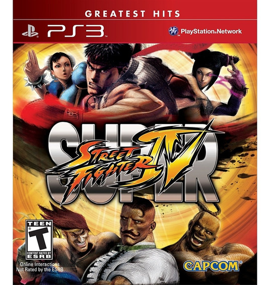 Street Fighter Iv Ps3 Mídia Física Novo Lacrado
