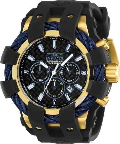 Relógio Invicta 23862 Masculino Banhado Ouro 18k