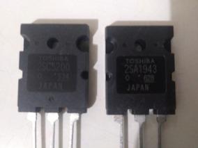 Transistor 2sa1943 + 2sc5200 Toshiba - (par) 2sa1943 - 2sc52